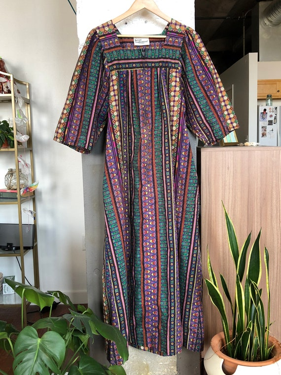 Vintage Krist Gudnason Patio Dress, Vintage Kaftan