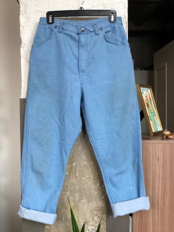 1970s Blue Bell Wrangler Sanforized Jeans, Vintage