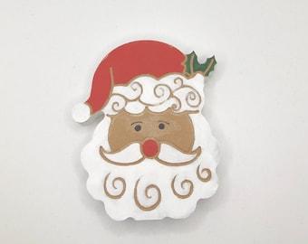 Christmas SANTA, Holiday decorations, farmhouse Tiered Tray decor