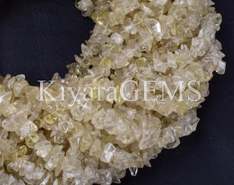 6 Inch strand,WHITE TOPAZ Fancy Faceted Nuggets Shape,Size 8-9mm