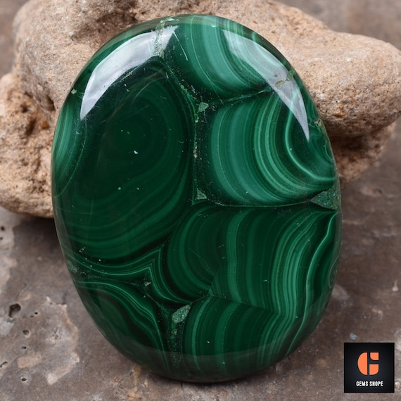 For Making Earrings Size 24X14 25X14 mm A2547 Wonderful Natural Malachite Oval Shape Cabochon Loose Gemstone 2 Pcs 45 Ct Top Grade Quality