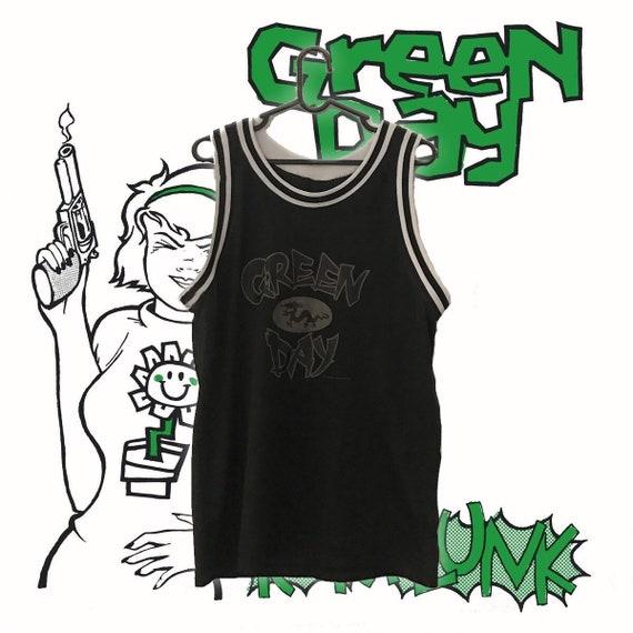 Green Day basketball jersey