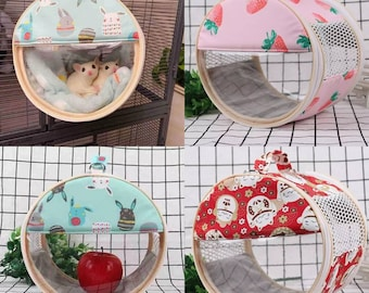 Carrier Bag For Hamster, Hedgehog, Sugar Glider Or Small Animals With 3 Colors.