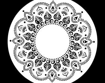 Posh Chalk Stencil-Moroccan Melody