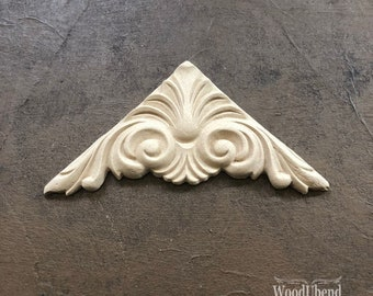"WoodUBend 1449 Decorative Plume (5.12"" x 2.36"")"