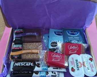 Coffee/Tea Loves Hamper Letterbox Gift - Ideal Gift For Your Loved Ones