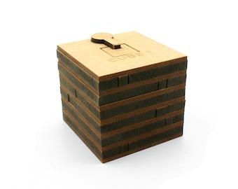Wooden game Escape box, Cube 1