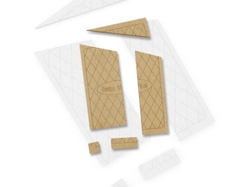 Wooden game, The square in excess