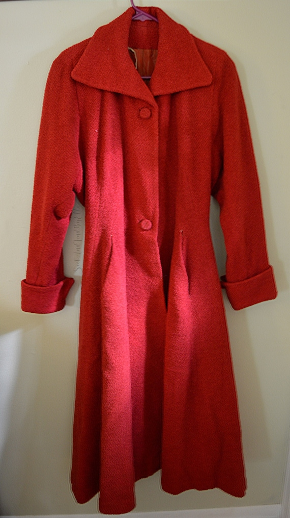 1950s Princess Circle Coat