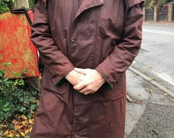 Oilskin Dover's coat