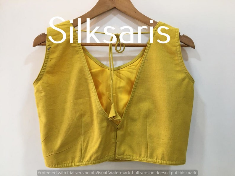 gold Designer Solid Plain Art Silk Readymade Padded Choli Stitched Saree Blouse Top Tunic Blouse For Bridal Bridesmaid Wedding Wear Blouse
