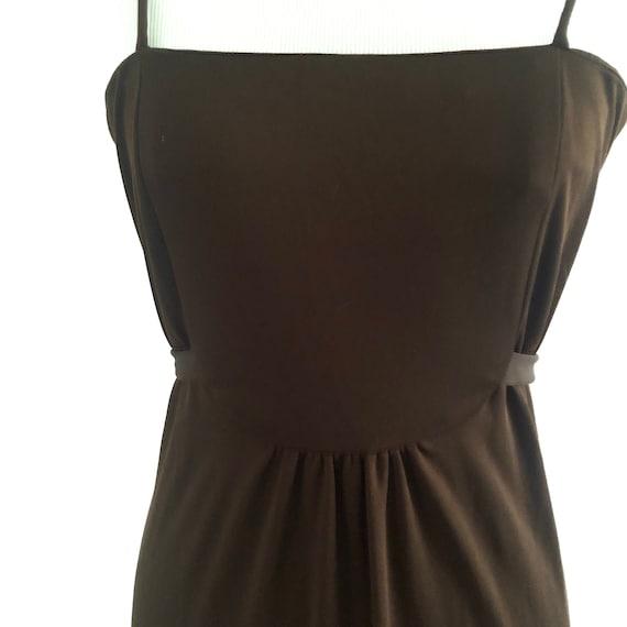 Vintage Brown 1970's Dress | Women's Clothing | 19