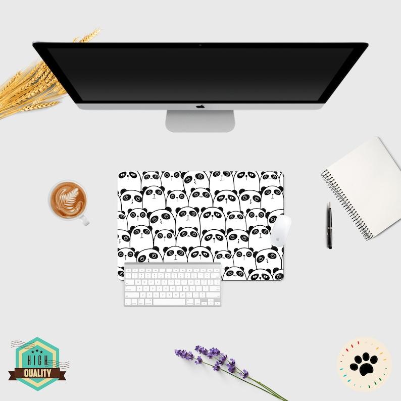 Desk Accessories Desk Pad Mouse Pad Cute Cute Mouse Pad Lap Desk Cute Desk Mat Mouse Pad Kawaii Cute Panda