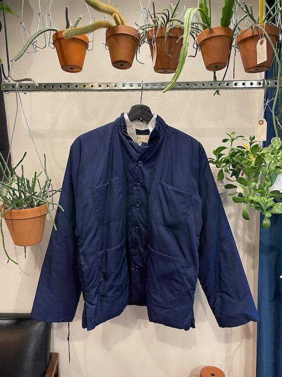 Mandarin Collar Work Jacket