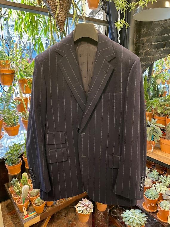 Vintage Pinstripe 1940s Wool Suit Set