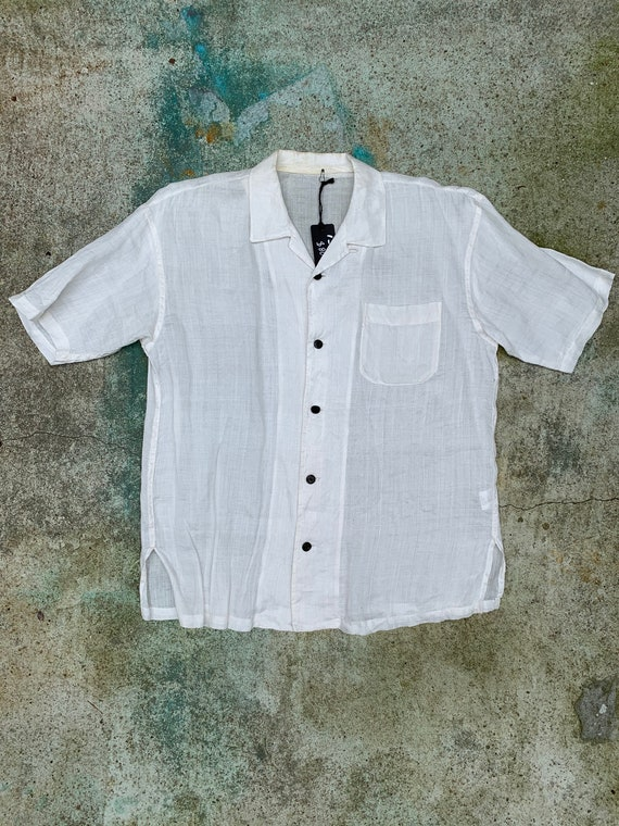 Vintage Linen Campshirt