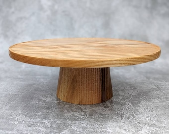 Elevated Cake Stand In Ash