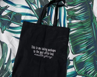 Cha Ching Tote Cha-Ching Tote Cha Ching Caryall It/'s an Etsy Thing Cha-Ching Etsy Shop Tote Cha Ching Post Office Bag