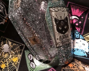 Tarot Black Cat Coffin