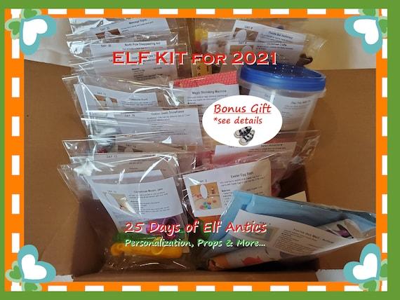 Personalized Elf Kit  Elf Props Activities  Elf Kit 2021