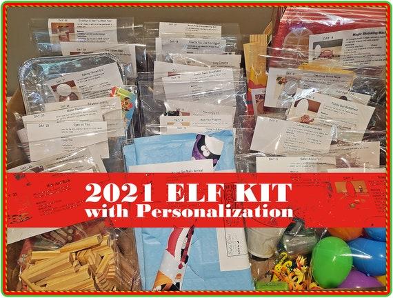 2021 Personalized Elf Kit  Elf Prop 2021 Kit  2021 Elf
