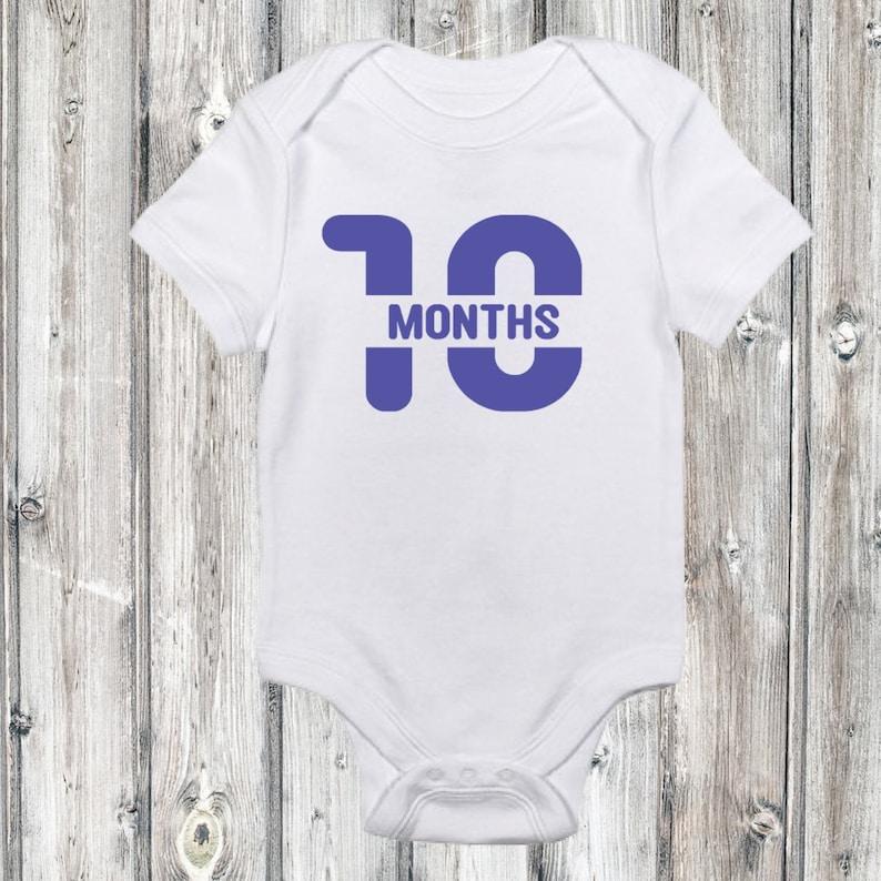 monthly onesies Milestone onesies baby/'s milestones