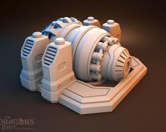 Sci Fi Generator by The Dragons Rest 28mm Wargame Terrain Warhammer 40K Infinity