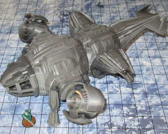 Heavy Dropship by The Dragons Rest 28mm Wargame Terrain Warhammer 40K