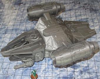 DragonCrest Spaceship by The Dragons Rest 28mm Wargame Terrain Warhammer 40K
