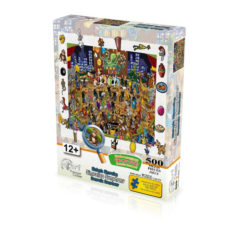 """Jigsaw Puzzle 500 Pieces Gold Edition /""""Hot-Air Balloons/"""" by Wuundentoy"""