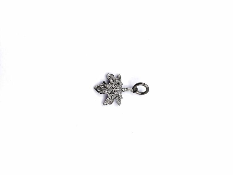 pave diamond 925 sterling silver beautiful designer diamond charm pendant it is hand made diamond charm pendant for girls /& woman/'s