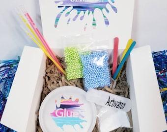 DIY Slime Kit, kids party box, birthday party favor, Slime Kit, diy slime party, diy slime kids craft, birthday party kit, activity box