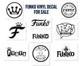 Funko Pop Vinyl Decal Stickers
