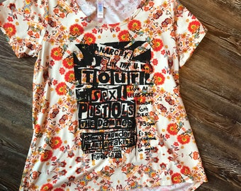 Sex Pistols Show Flyer T-Shirt