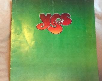 YES- 1976 Solo Albums Tour World Tour Booklet