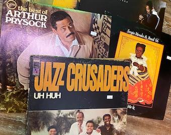 5 Used LP Jazz Mystery Box