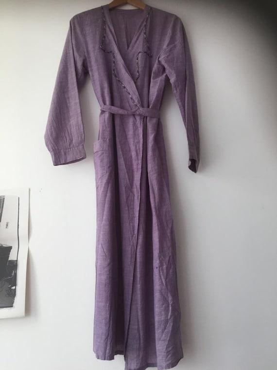 Vintage workwear overcoat