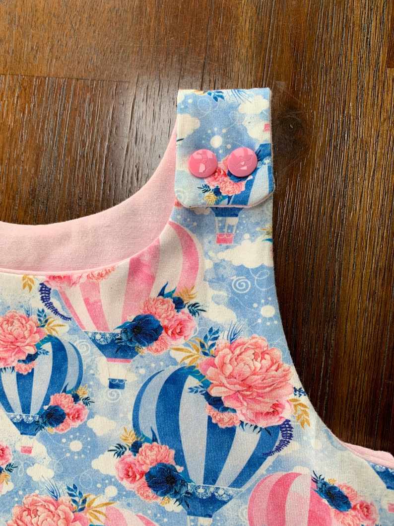 Irish Shop dungarees Floating about romper over it alls baby clothes semi lined gift outfits mbjm