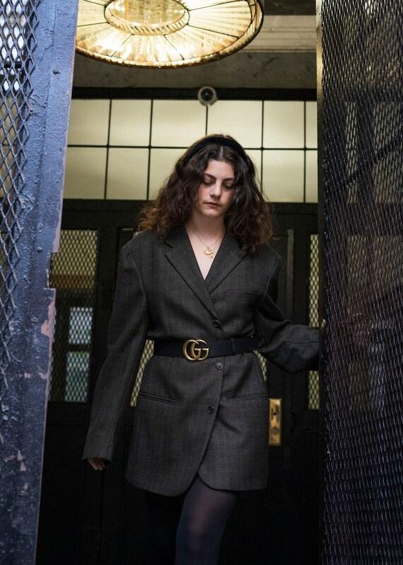 Sabrina Vintage Oversized Blazer