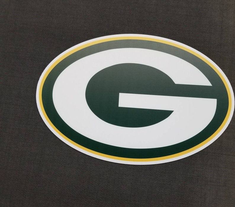 Packers yard sign