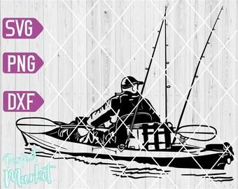 Download Kayak Fishing Svg Etsy