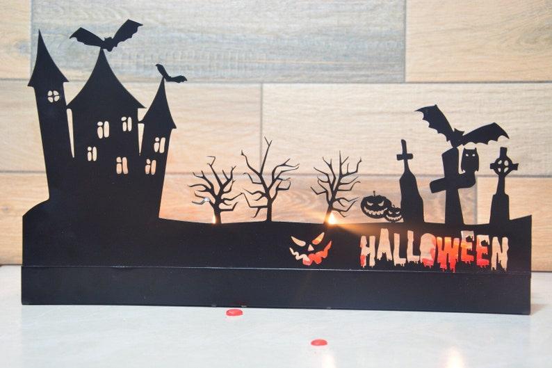 Hallowen Candle Holder