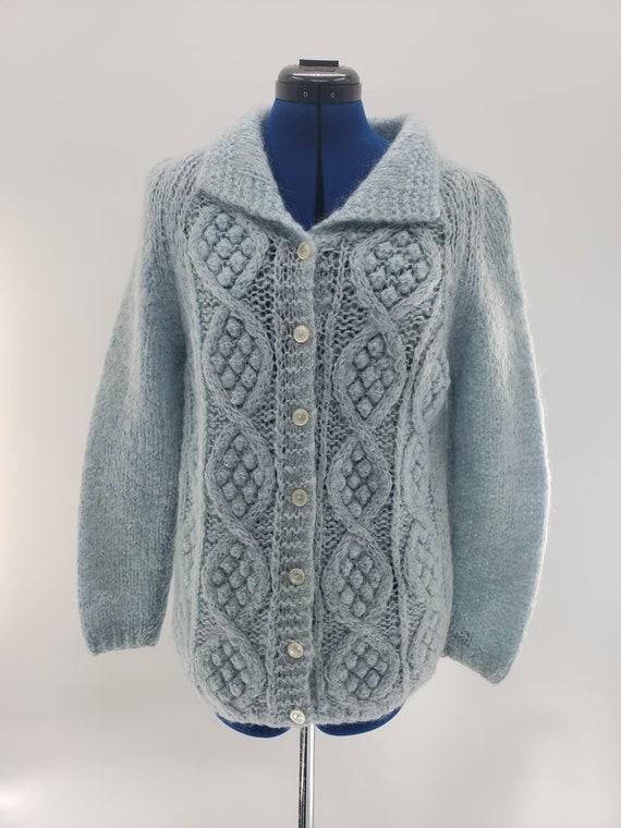 Vintage Italian wool hand knit sweater
