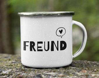 Enamel Cup/Camping Mug Family: Friend