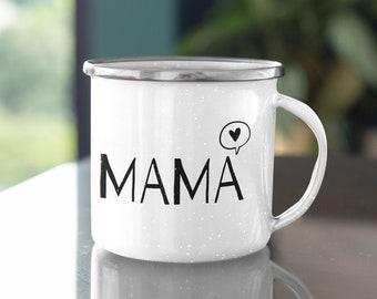 Enamel Cup/Camping Mug Family: Mom