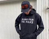 Black Hoodie - Always Film The Police