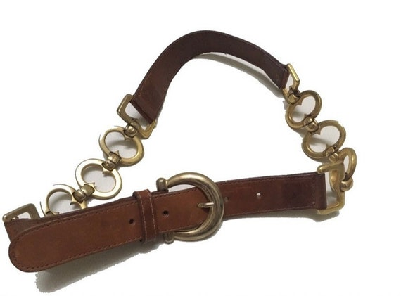 Omega leather belts