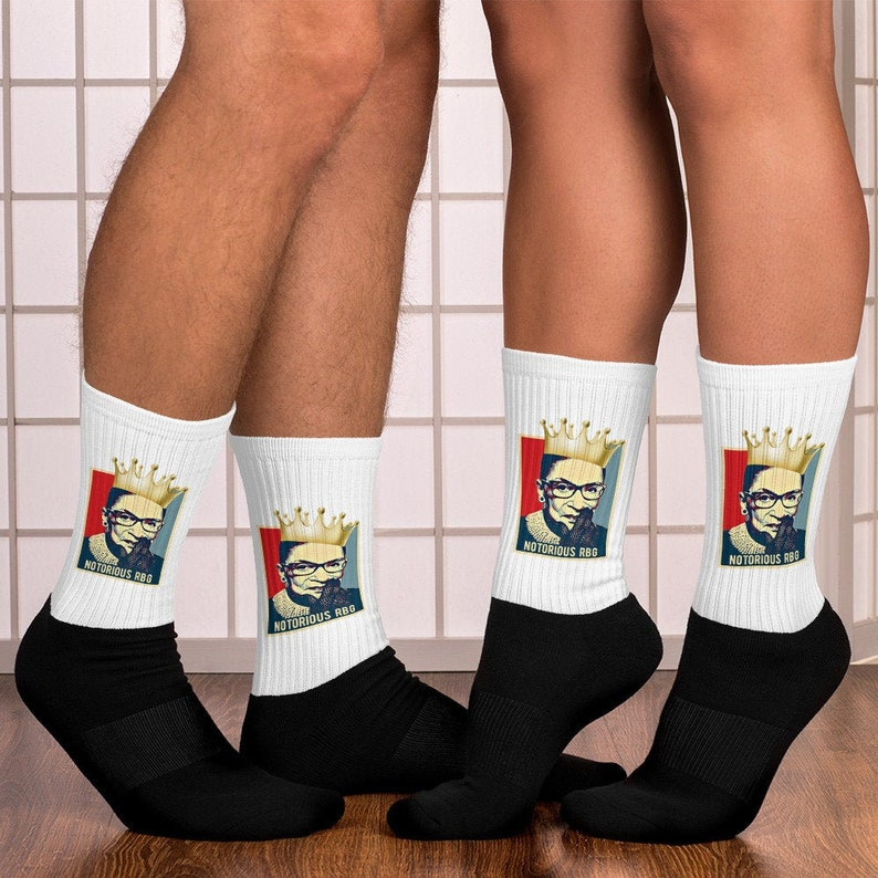 Ruth Bader Ginsburg Activists /& Feminists Dissent Unisex Socks RGB Supreme Court Justice Notorious RBG Shirt