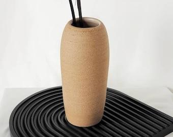 N12 Handmade pottery vase | Ceramics | Ceramic home decor | Pottery pots | Accent piece | clay Shelf decor | Modern home decor| home gifts