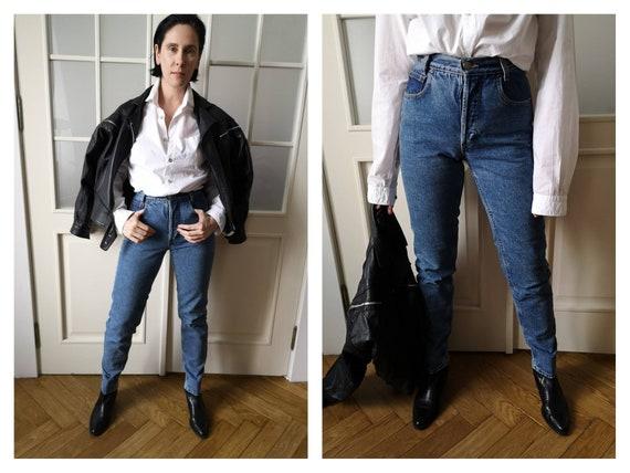 Vintage 90s High Waist ck Calvin Klein Jeans butto